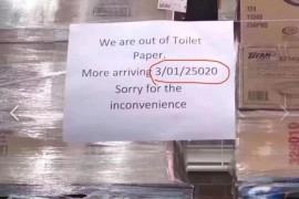 华裔疯抢卫生纸 Costco急了:补货要等2万年