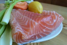 香煎三文鱼的做法步骤