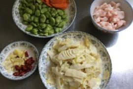 春笋炒豆瓣的做法步骤