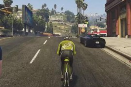 GTA5成了骑行爱好者的室内锻炼工具