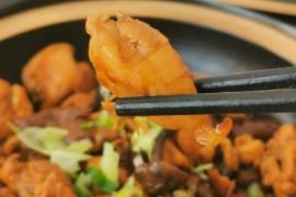 鸡腿炖蘑菇的做法步骤