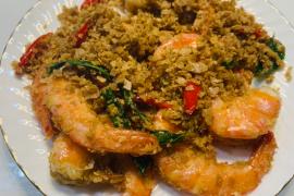 新加坡式麦片虾的做法步骤