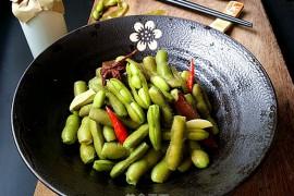 五香盐水毛豆的做法步骤