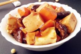 豆腐烧香菇的做法步骤