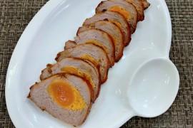 蛋黄叉烧肉的做法步骤