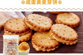 冬己麦芽饼106g夹心饼干早餐饼干代餐多口味办公室网红零食 冬己麦芽饼(咸蛋黄)106g