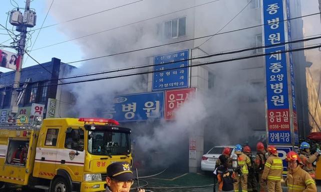 韩国医院火灾已基本控制火势 初步推测更衣室起火第1张-无忧岛网