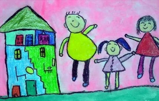 妈妈看眼了6岁女儿的画,直接报了警 家庭生活 第3张